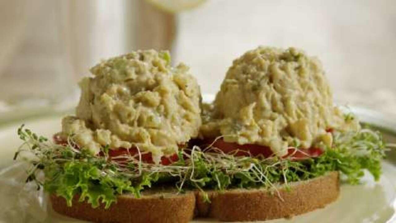 mock tuna salad video
