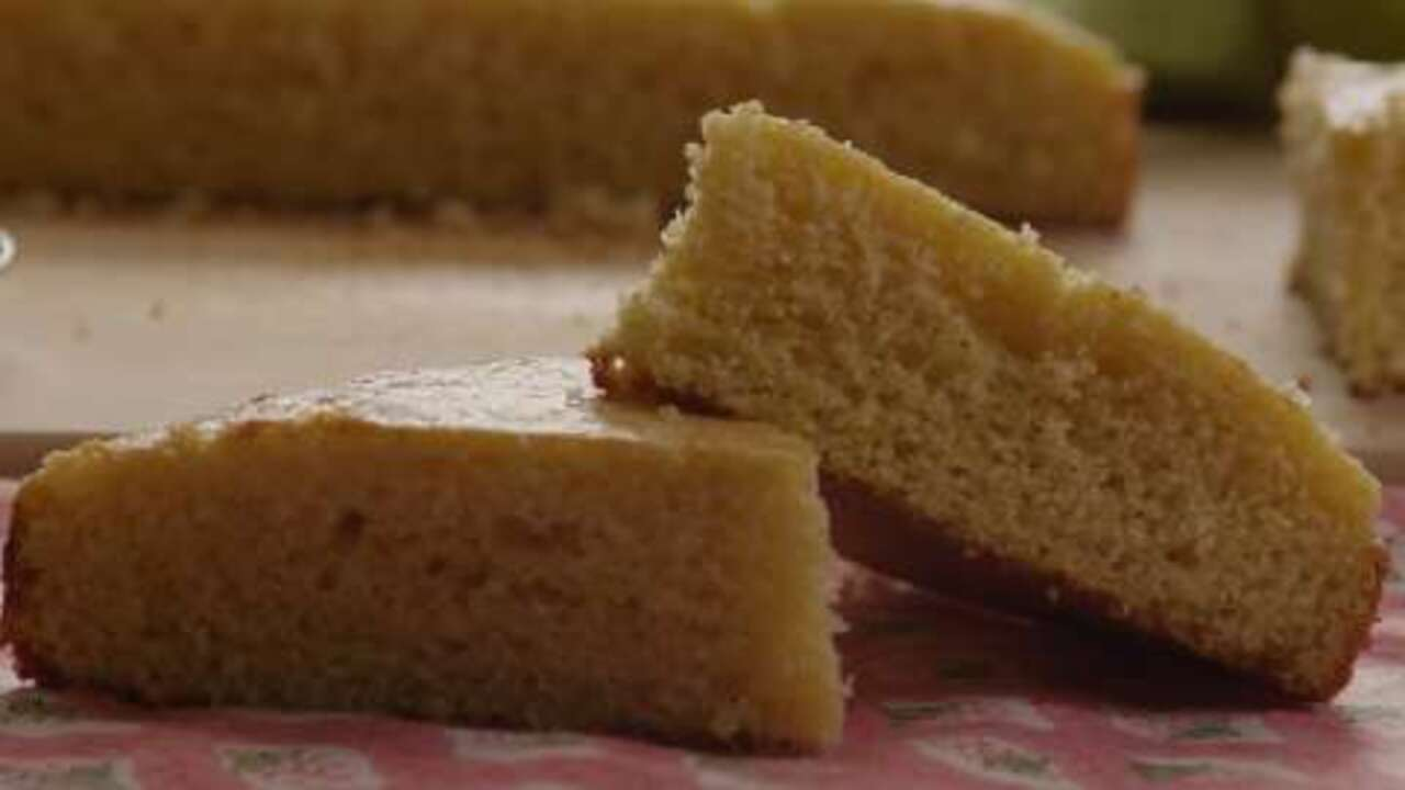 golden sweet cornbread video