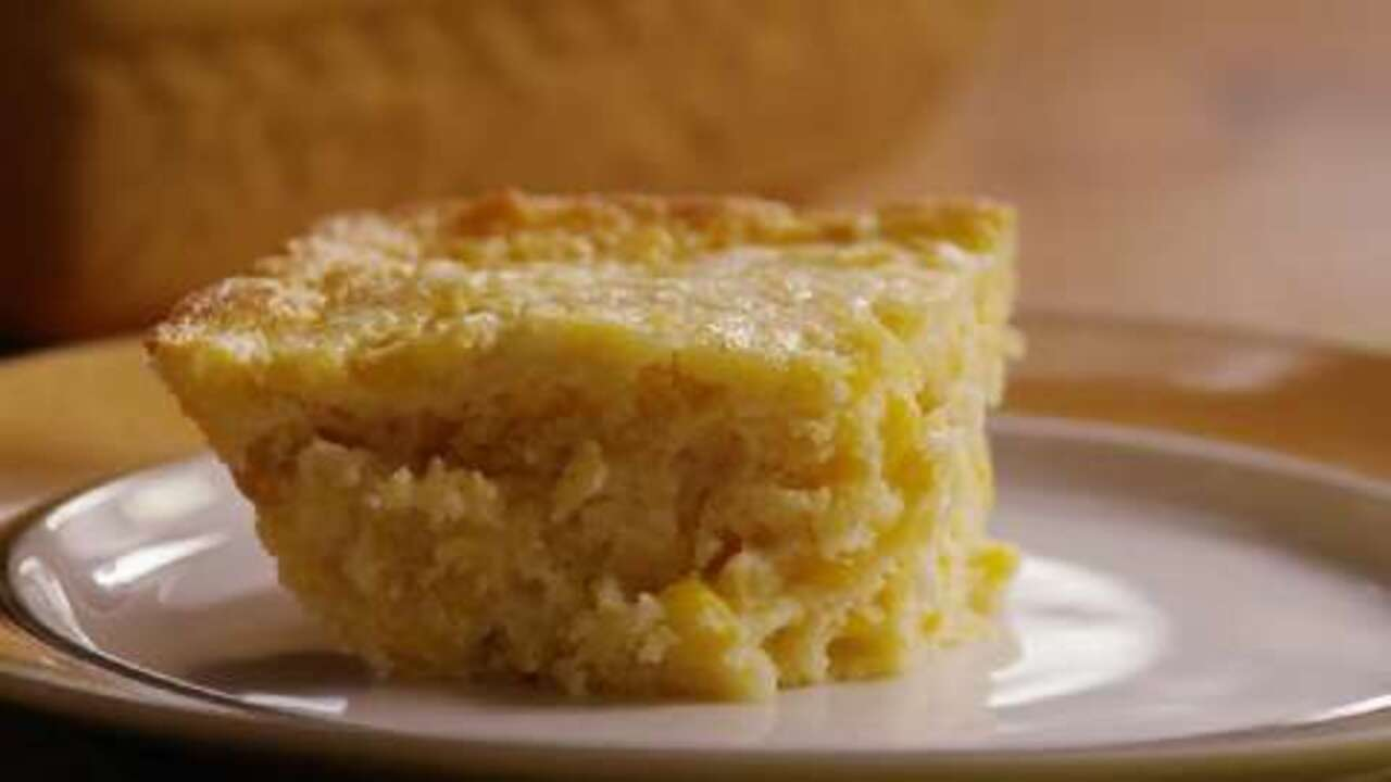 awesome and easy creamy corn casserole video