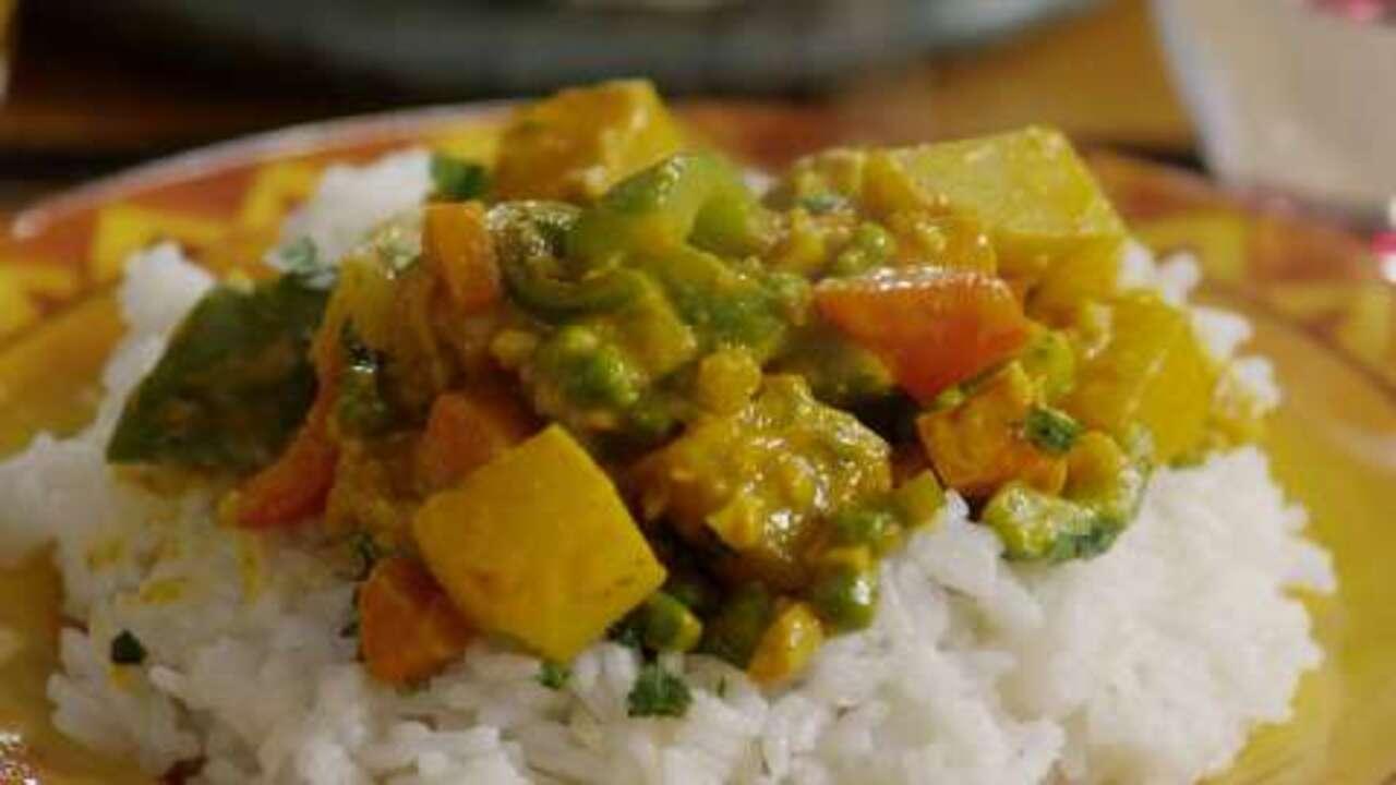 Vegetarian Korma Video