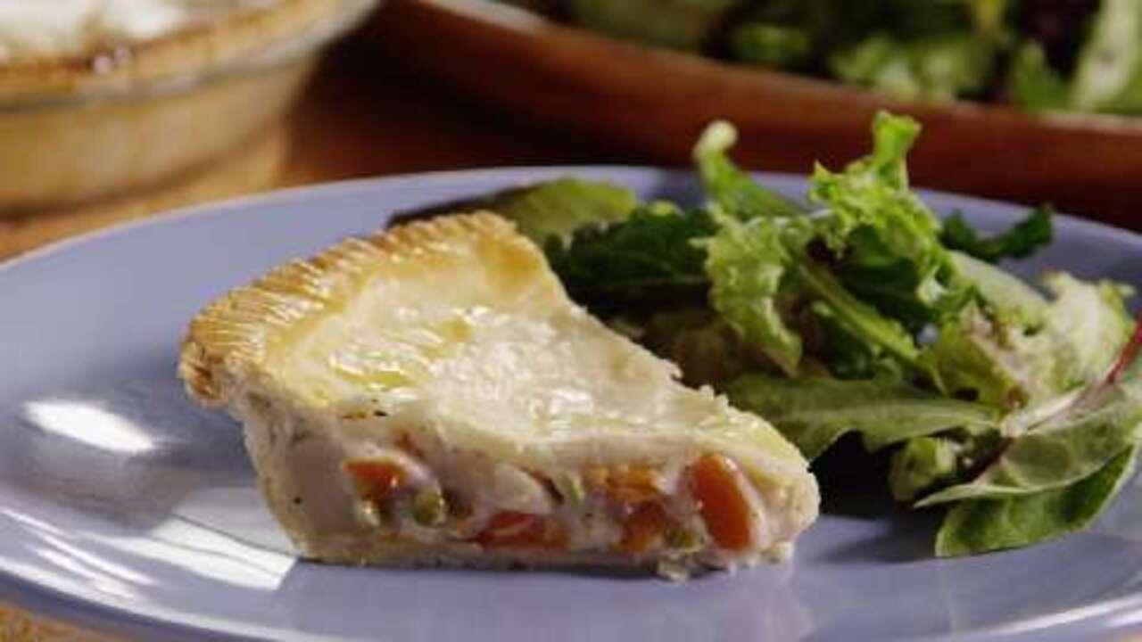 easy vegetable pot pie video