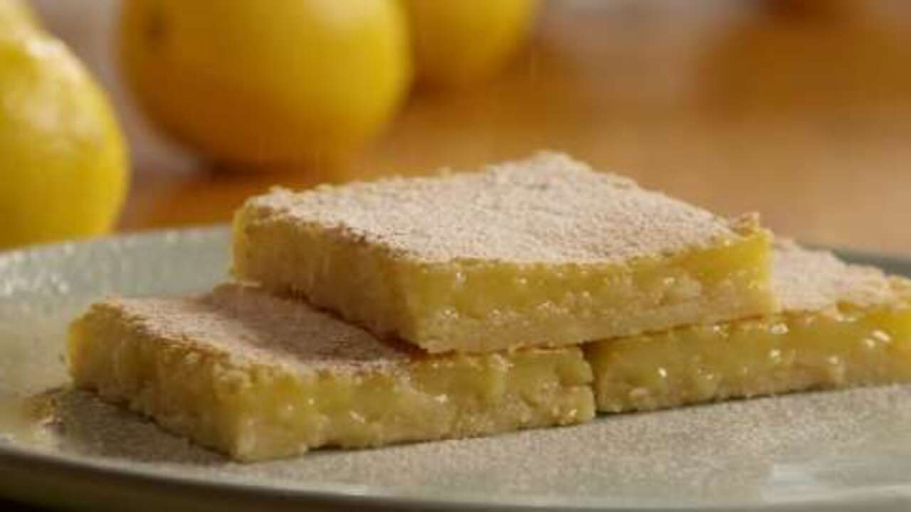 lemon square bars video
