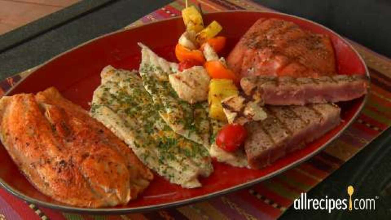 How To Grill Fish Video Allrecipes Com