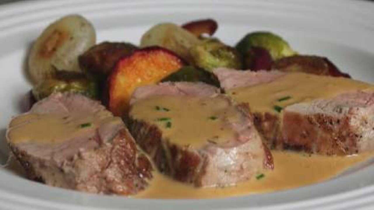 pork tenderloin diablo video
