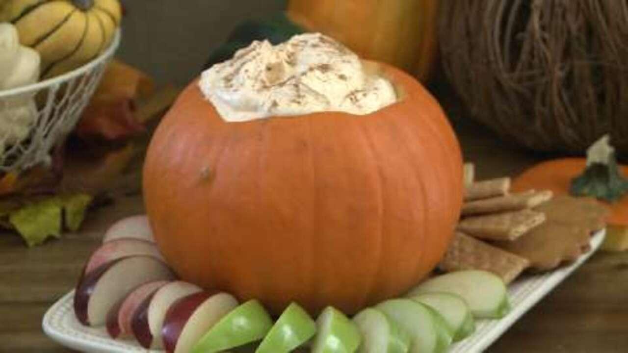 pumpkin fluff dip video