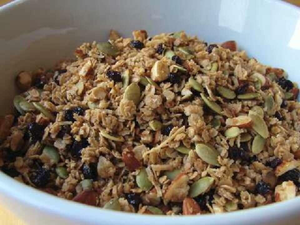 how to make homemade granola video