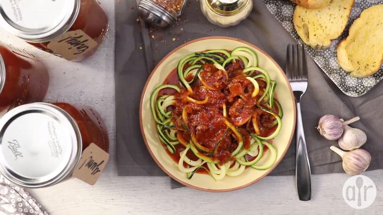 wedding gift spaghetti sauce video
