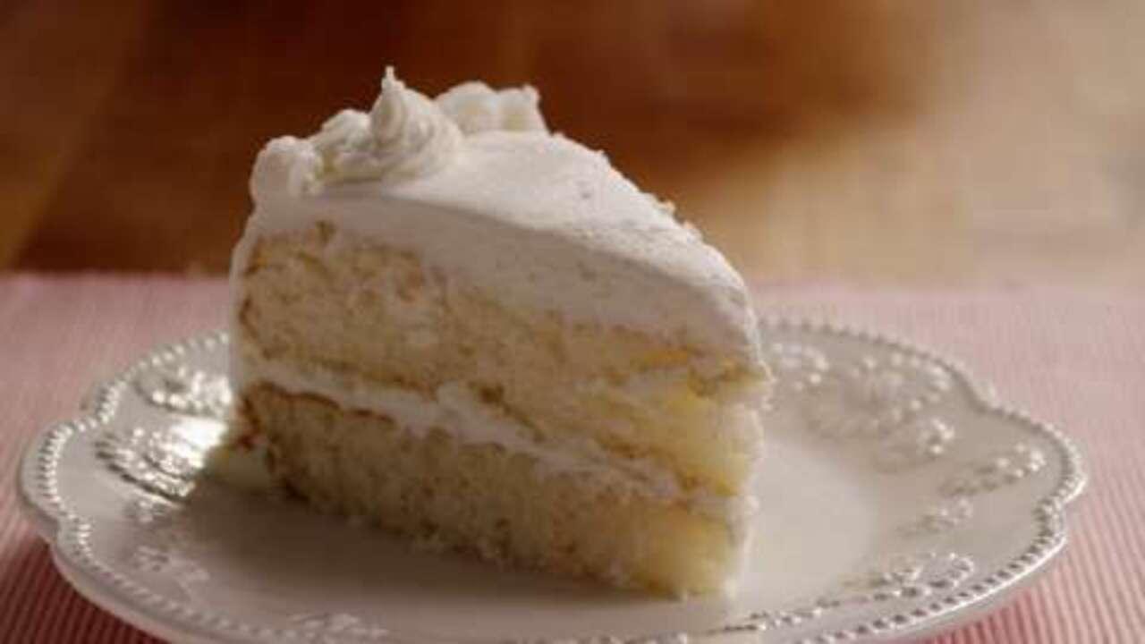 Heavenly White Cake Video