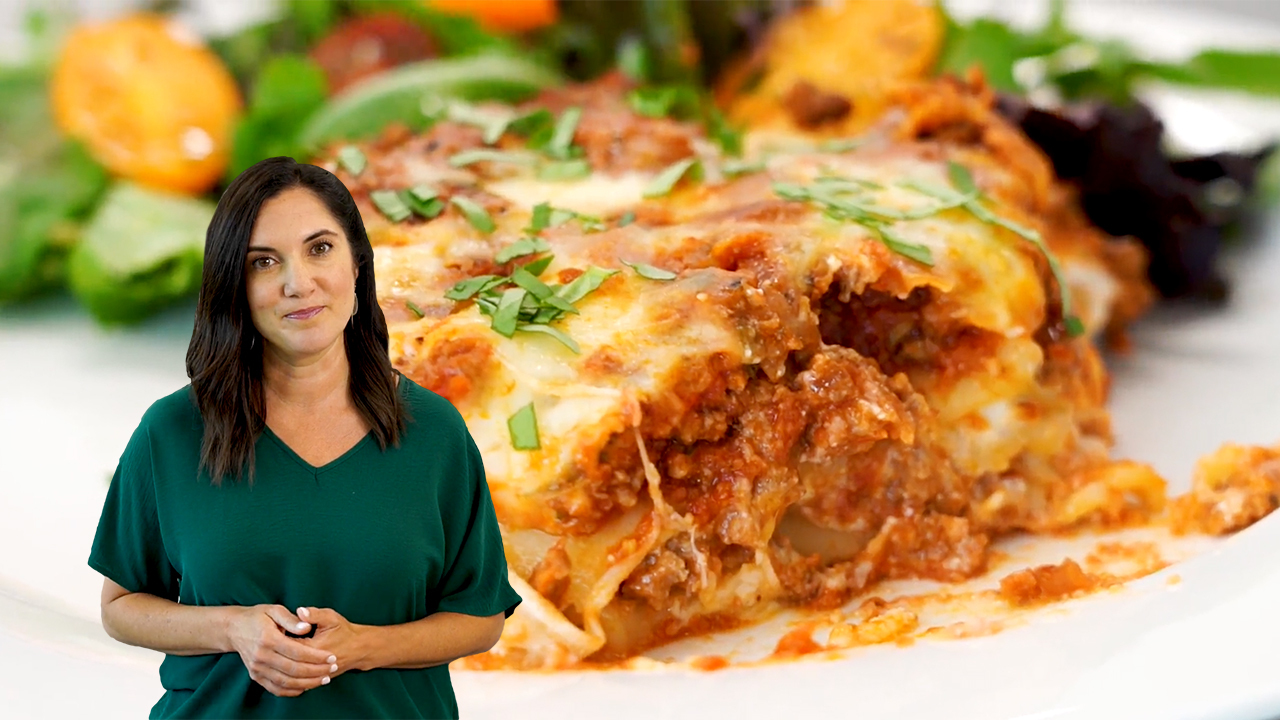 best lasagna with ricotta bechamel video