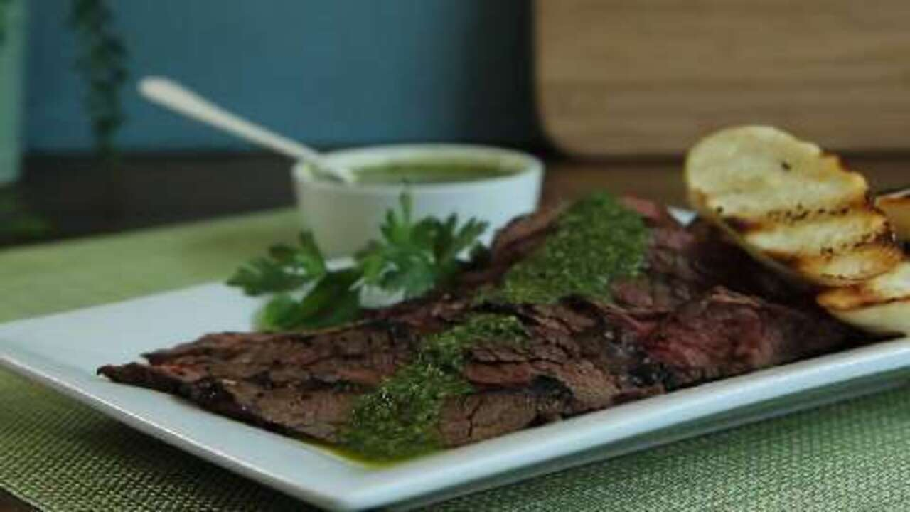 Chimichurri Sauce Video