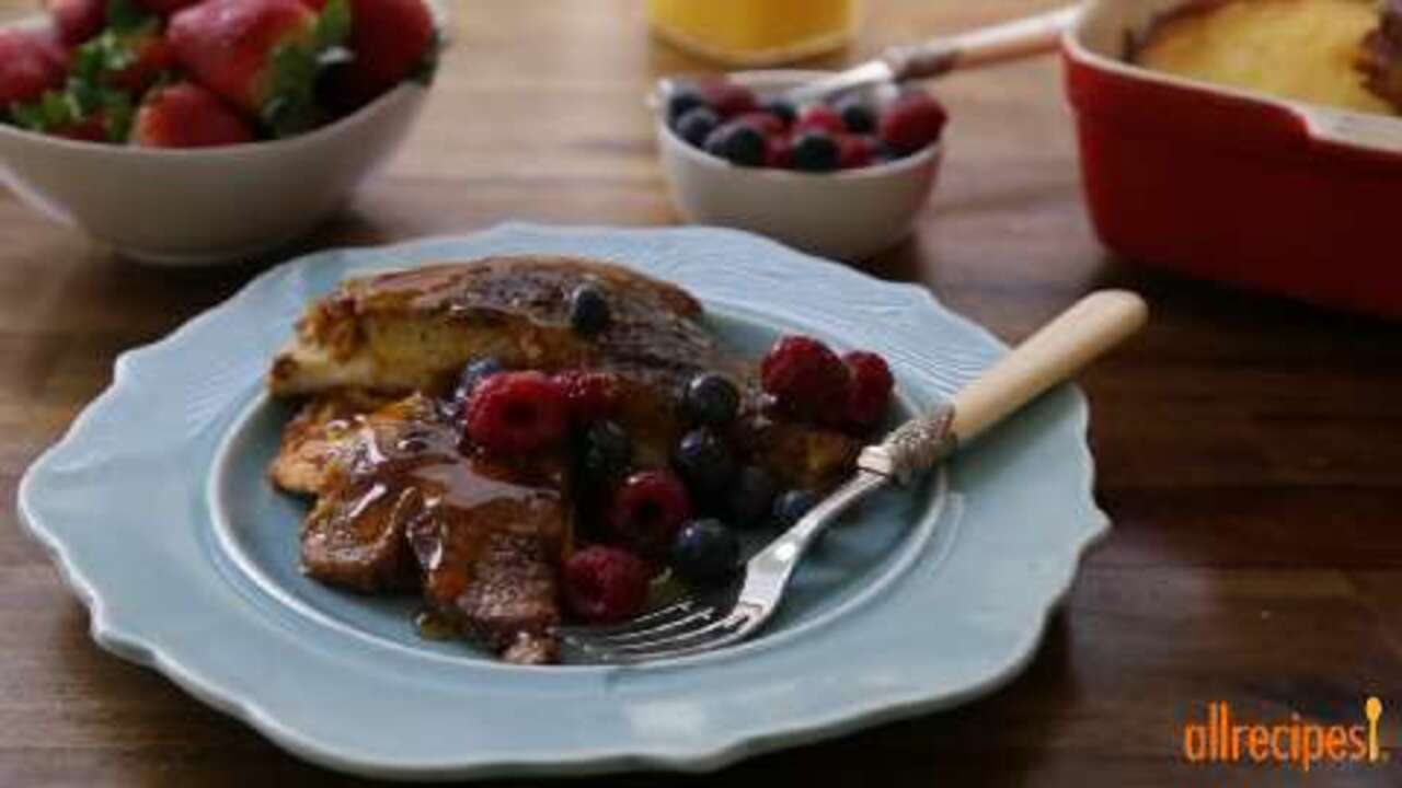 best oven baked french toast video