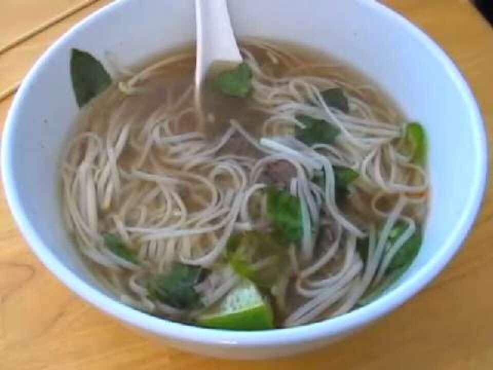 spicy vietnamese beef noodle soup video