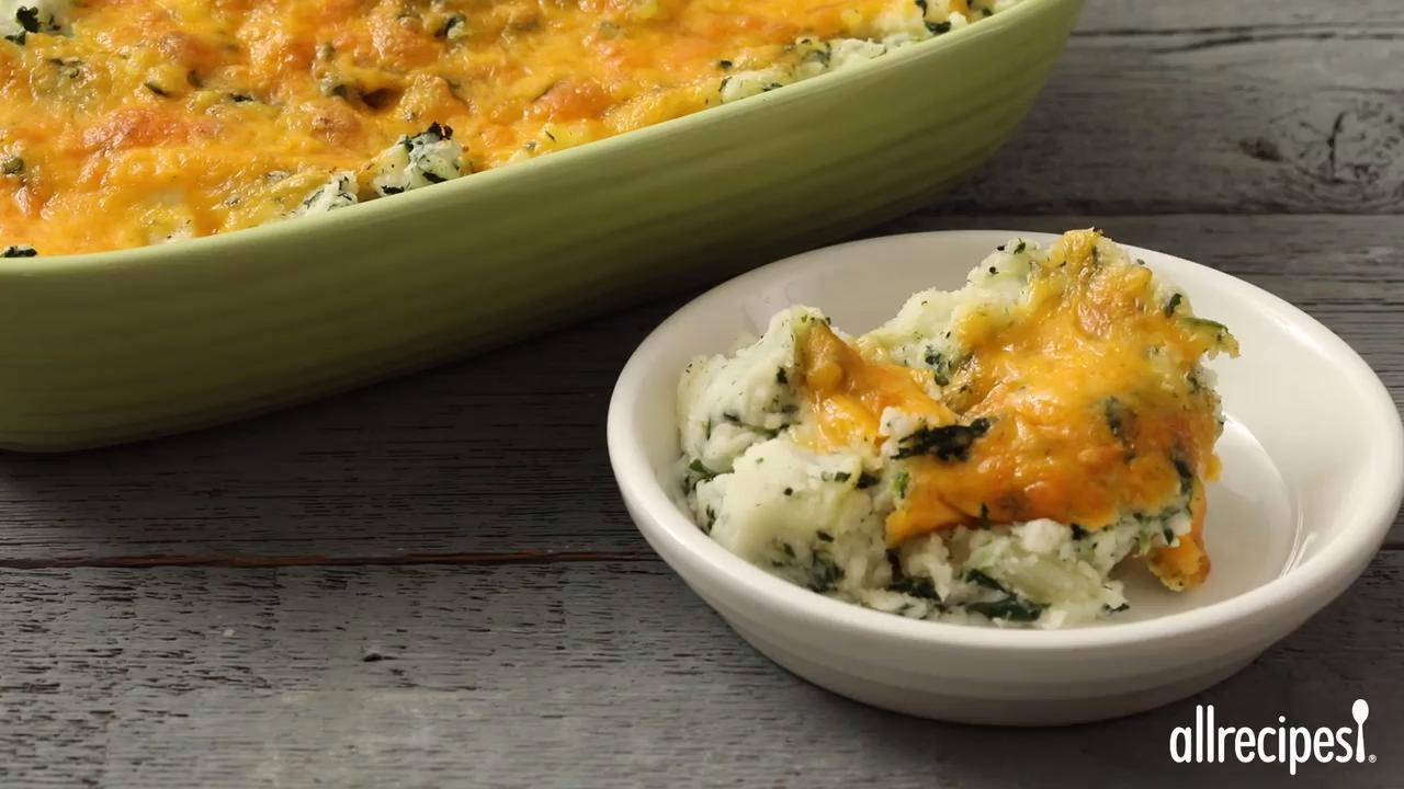 sallys spinach mashed potatoes video