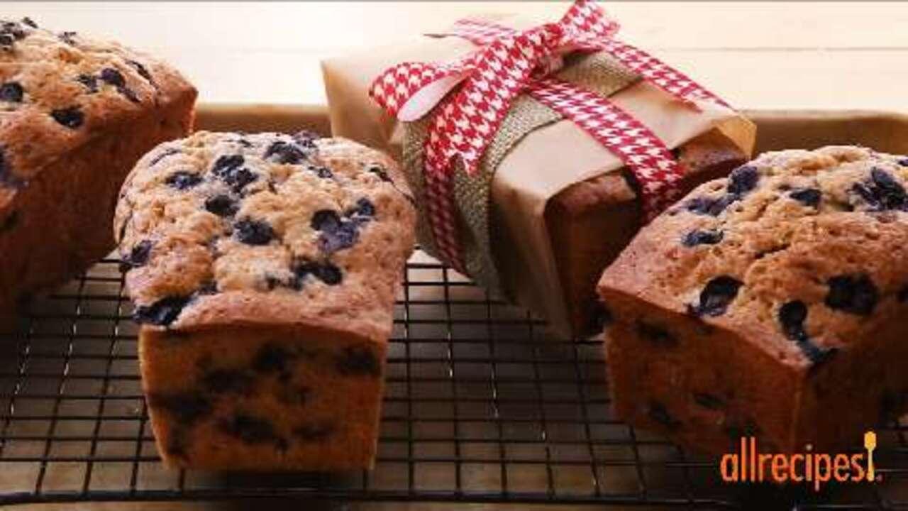 blueberry zucchini bread video