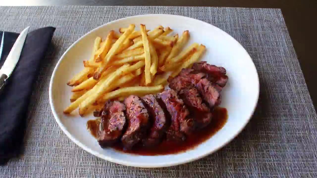 butchers steak hanger steak video