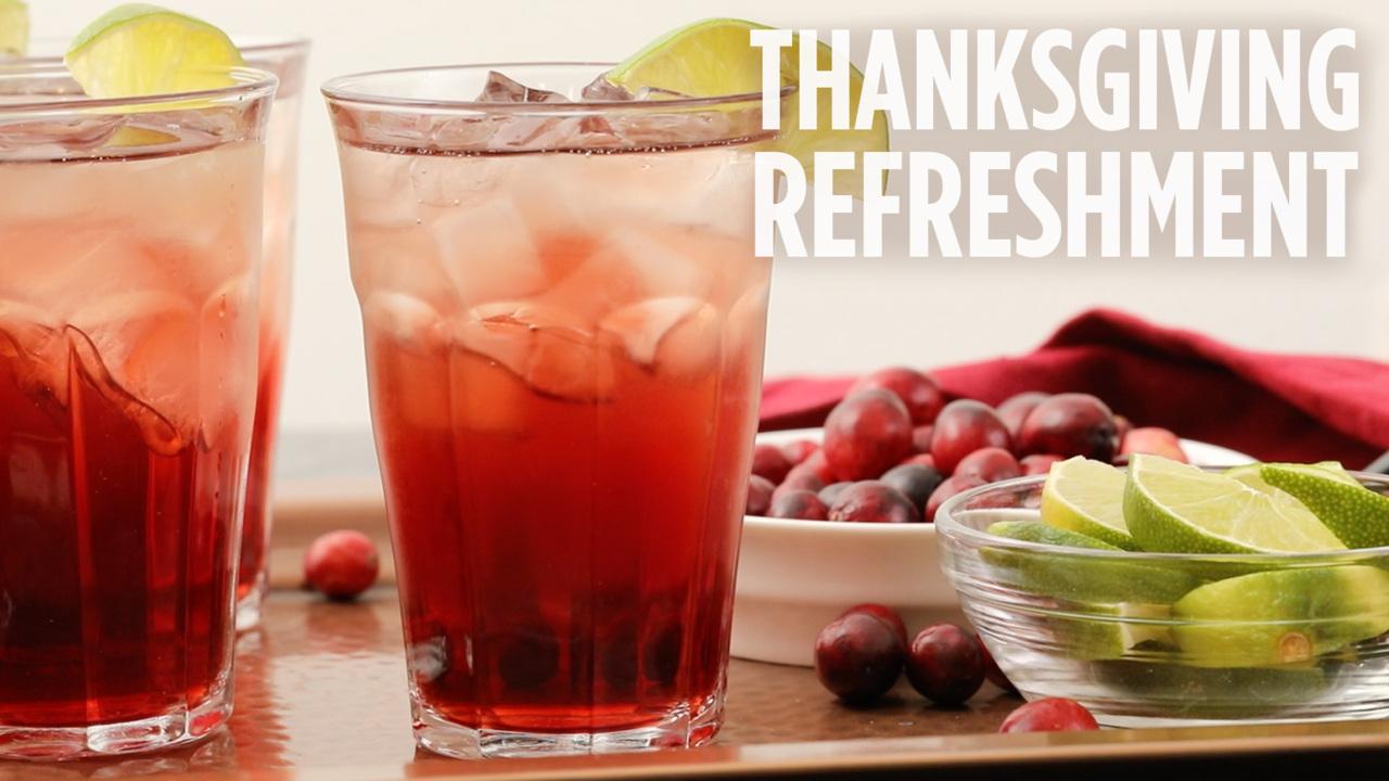 thanksgiving refreshment video