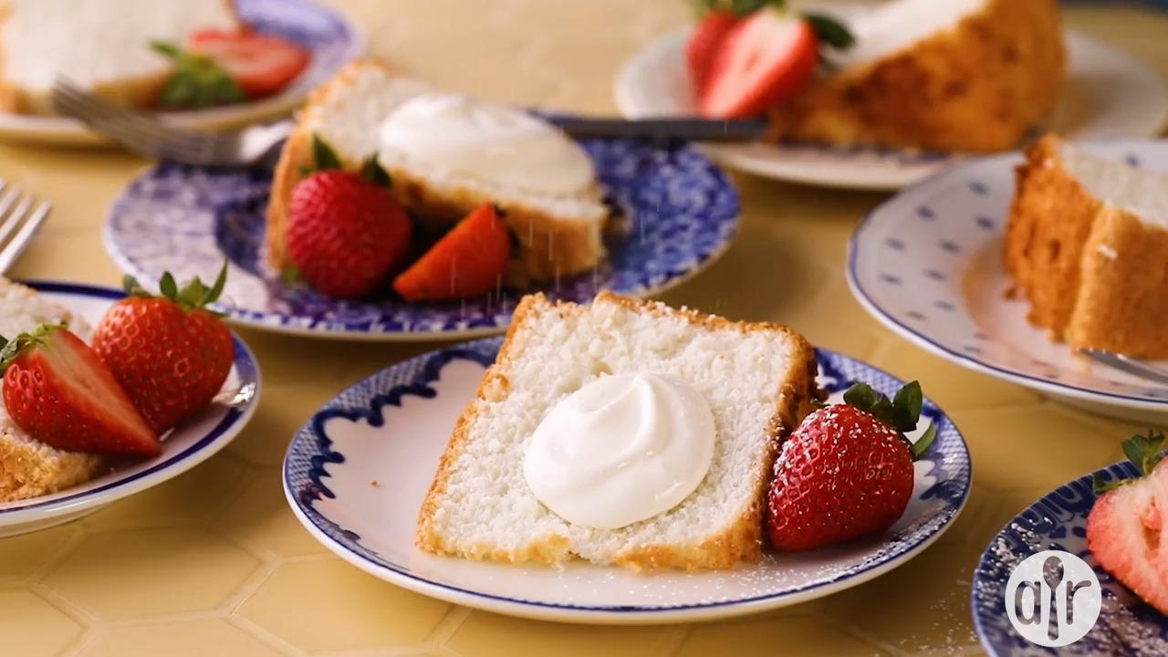 angel food cake i video