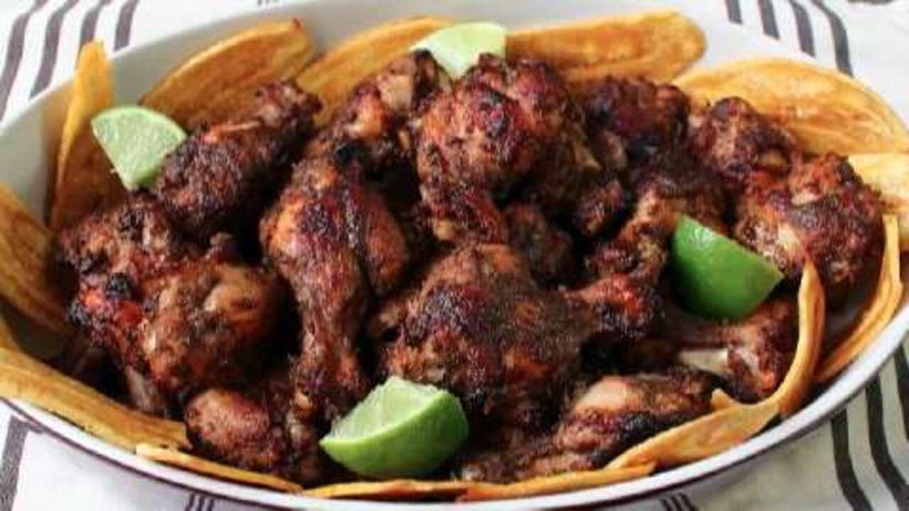 Chef John's Jerk Chicken Wings Video