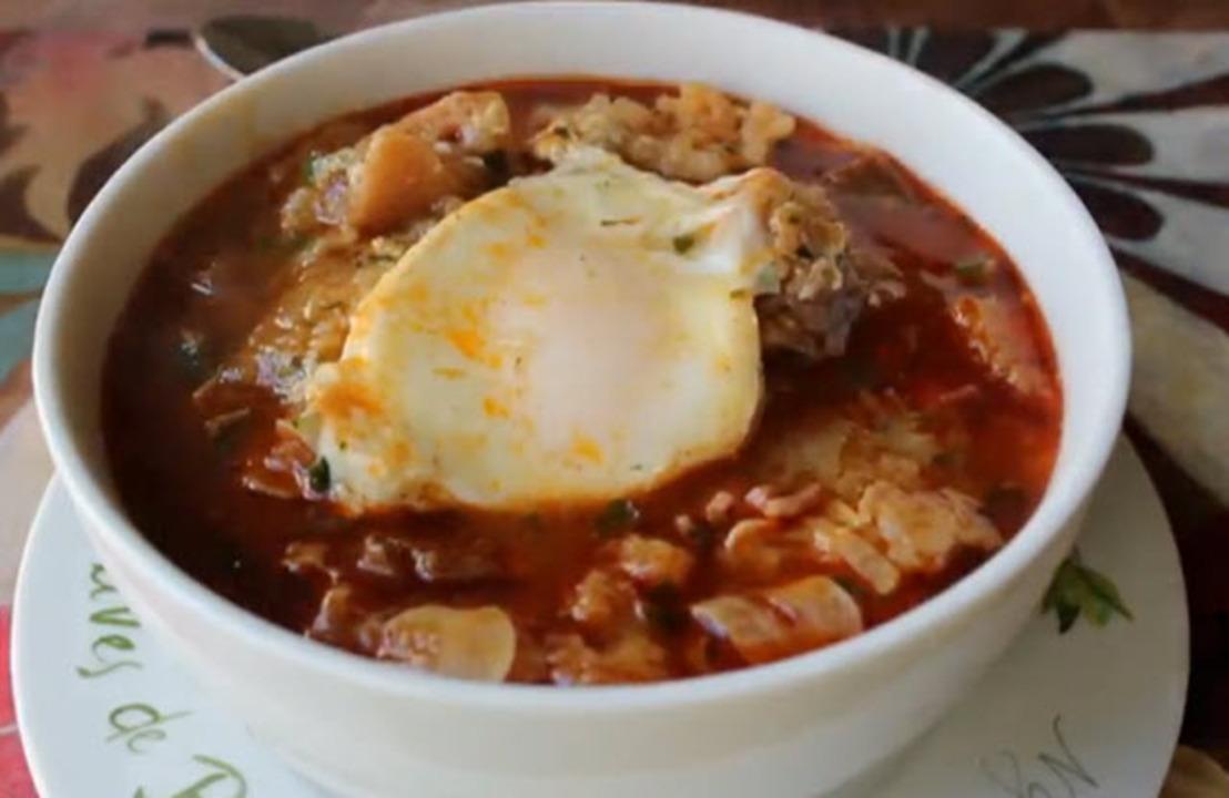 spanish garlic soup video