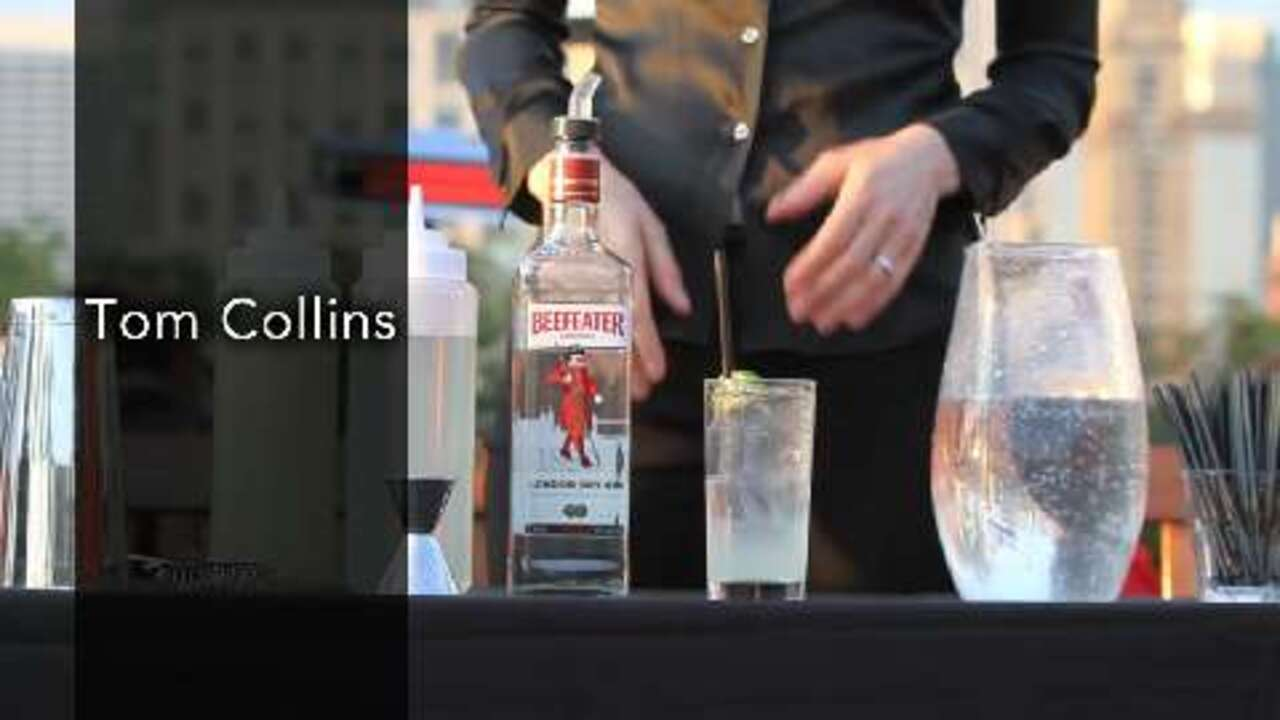 tom collins cocktail video