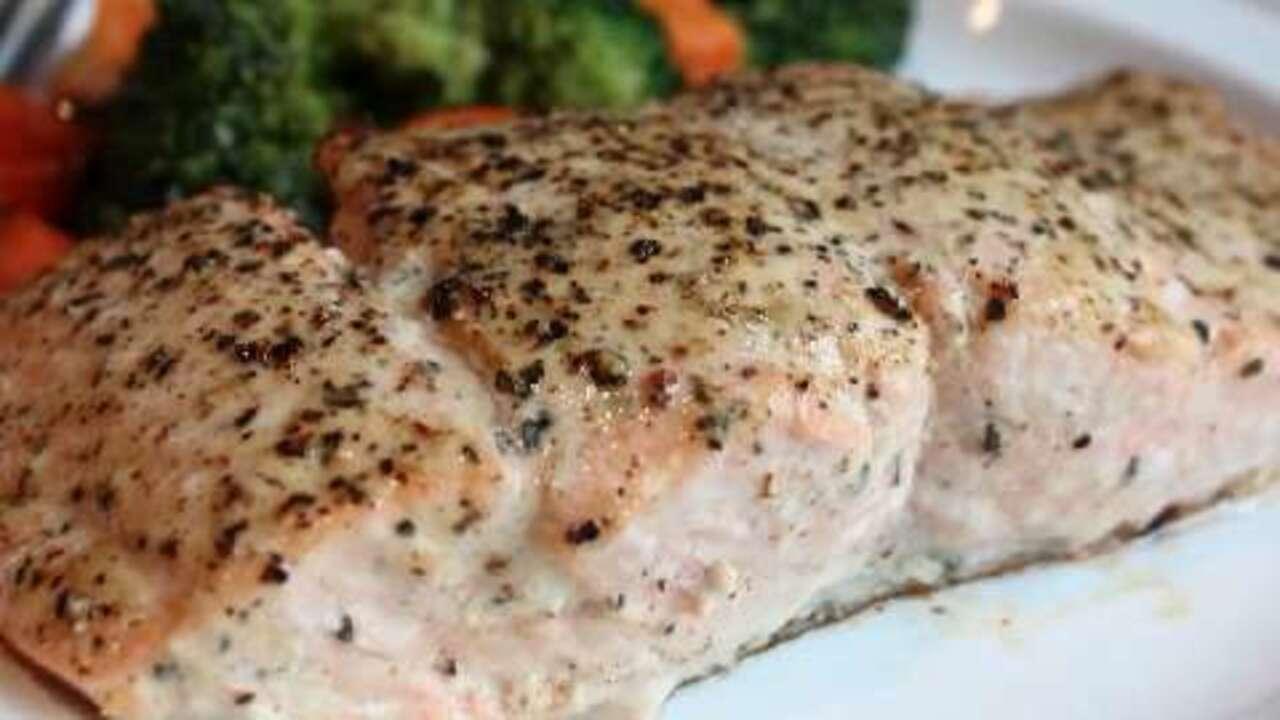 chef johns baked lemon pepper salmon video