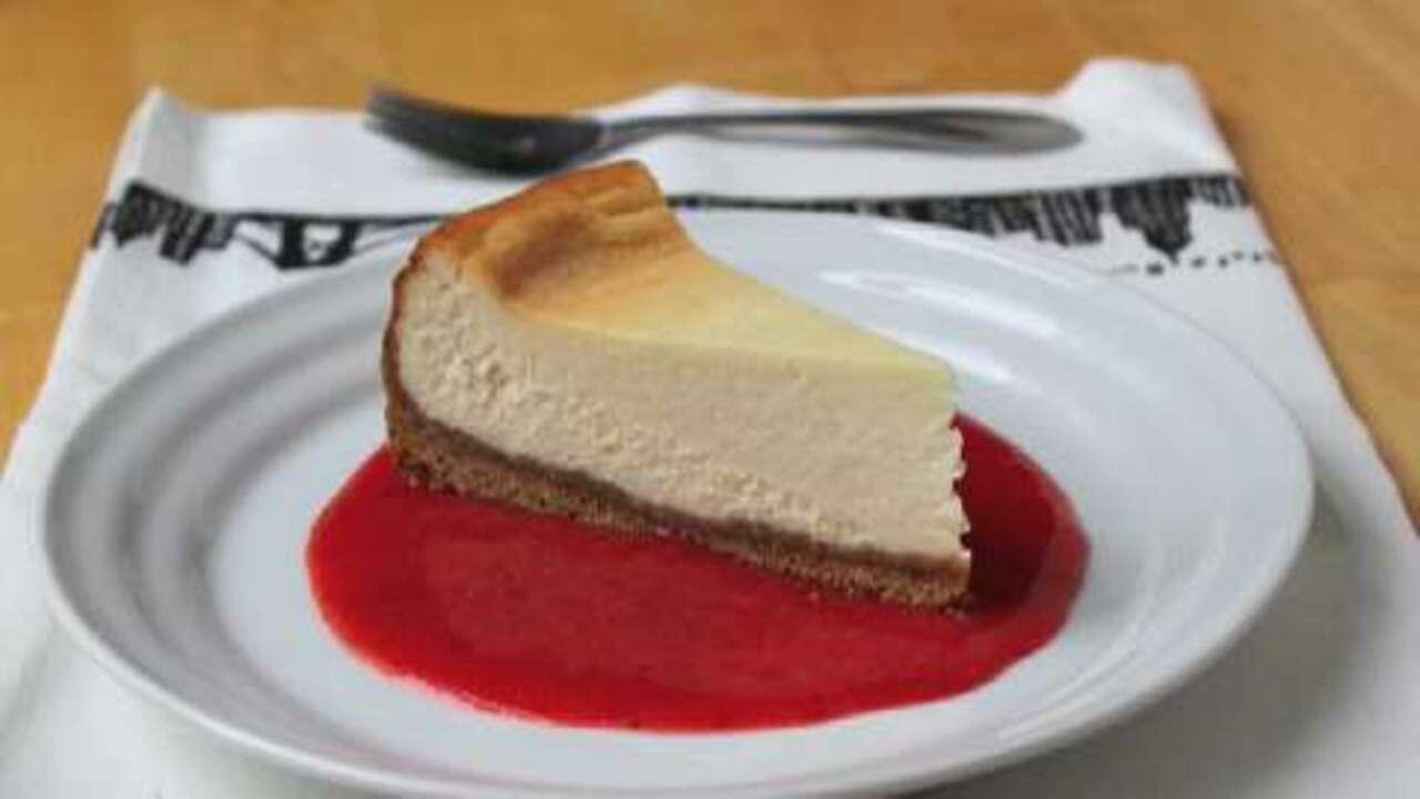 new york style cheesecake recipe allrecipes com