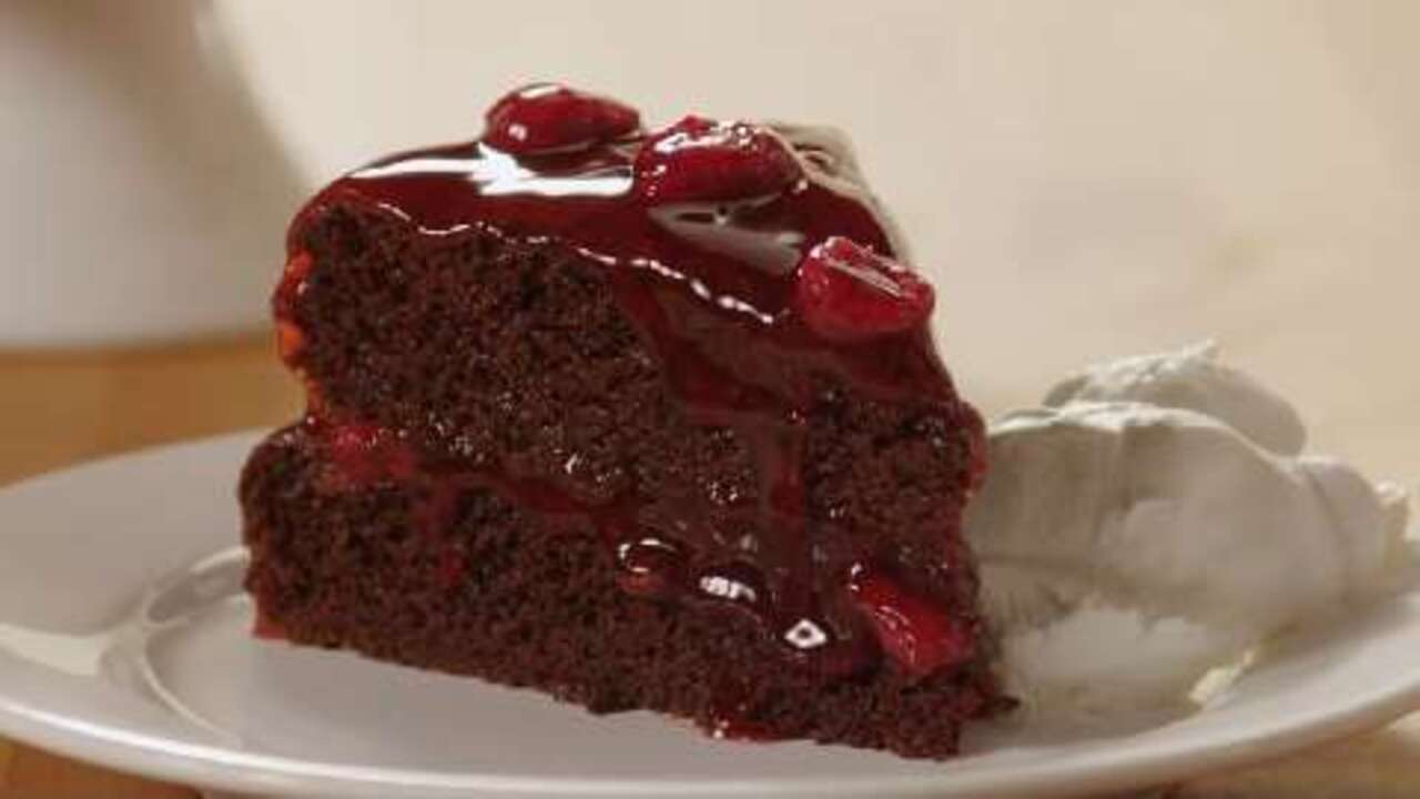jennys black forest cake video
