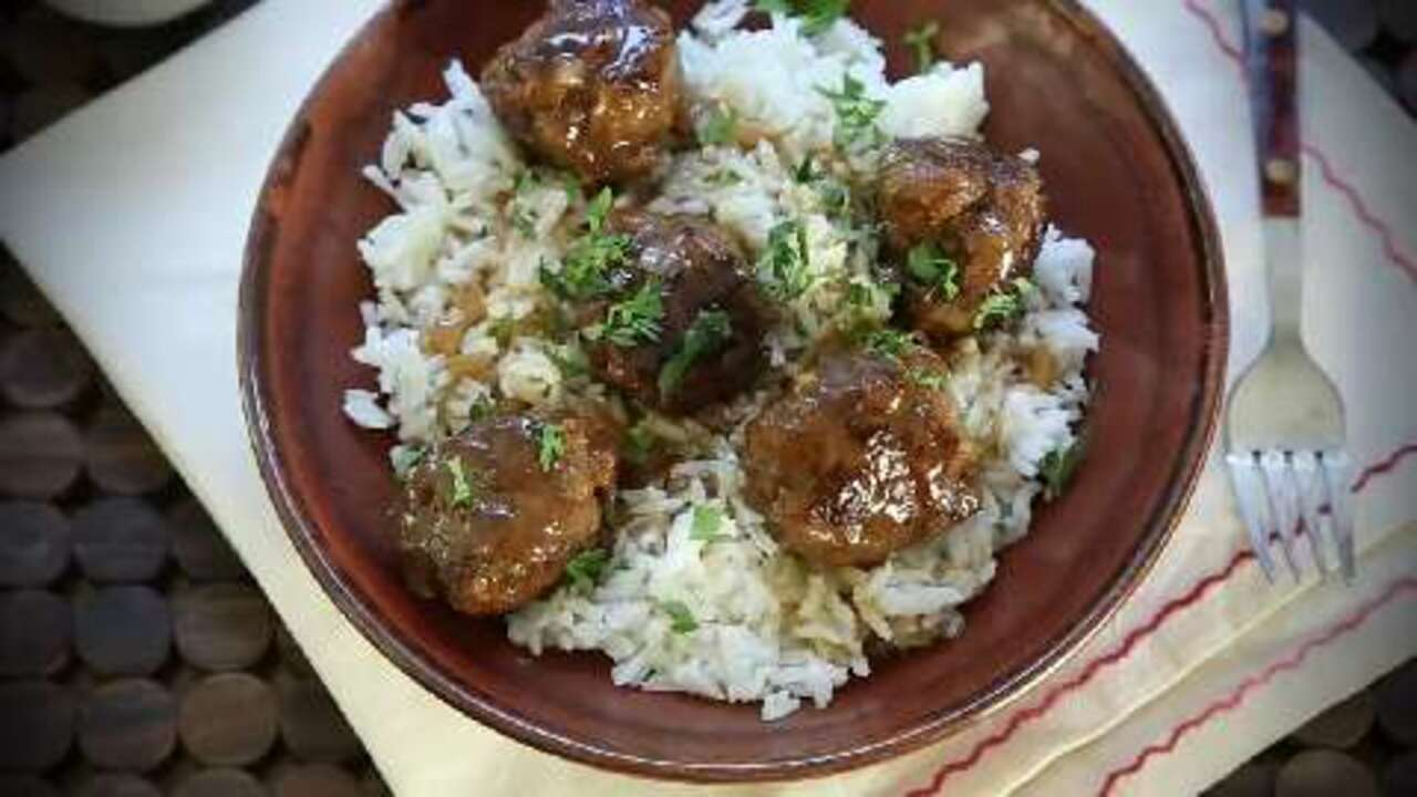 the best sweet and sour meatballs video