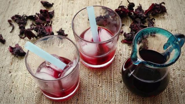 hibiscus syrup video