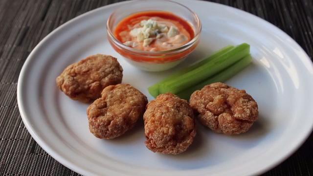 chef johns buffalo chicken nuggets video