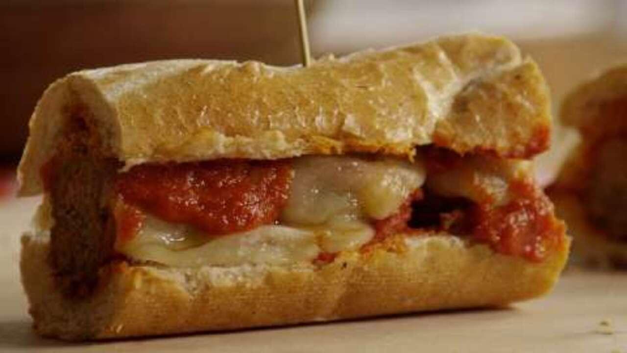 meatball sandwich video
