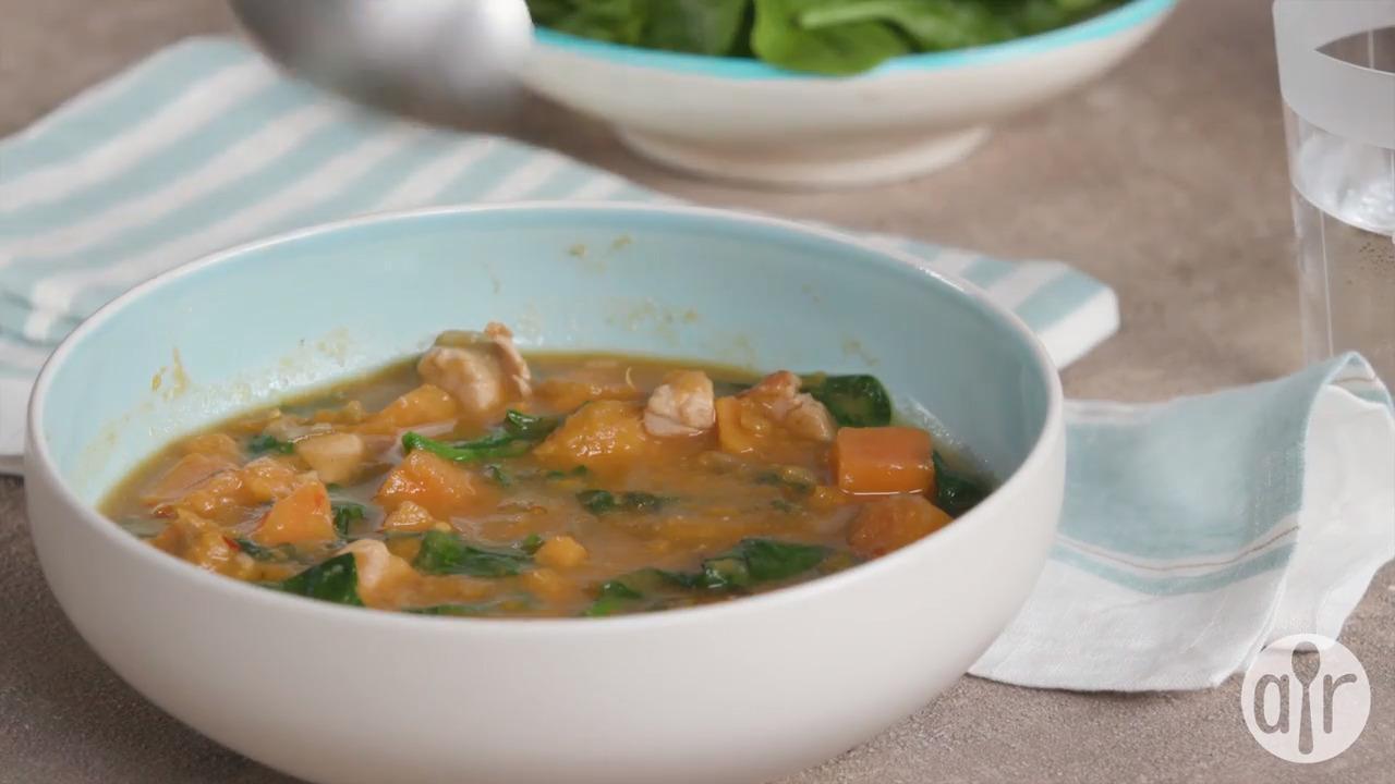 paleo chicken stew video