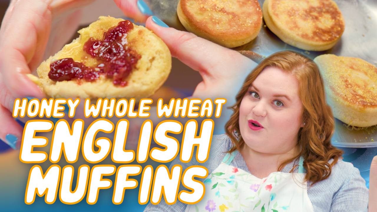 honey whole wheat english muffins smart cookie video