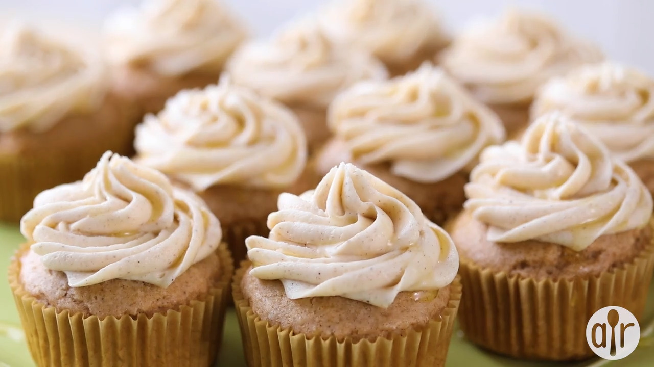 Sopapilla Cupcakes Video
