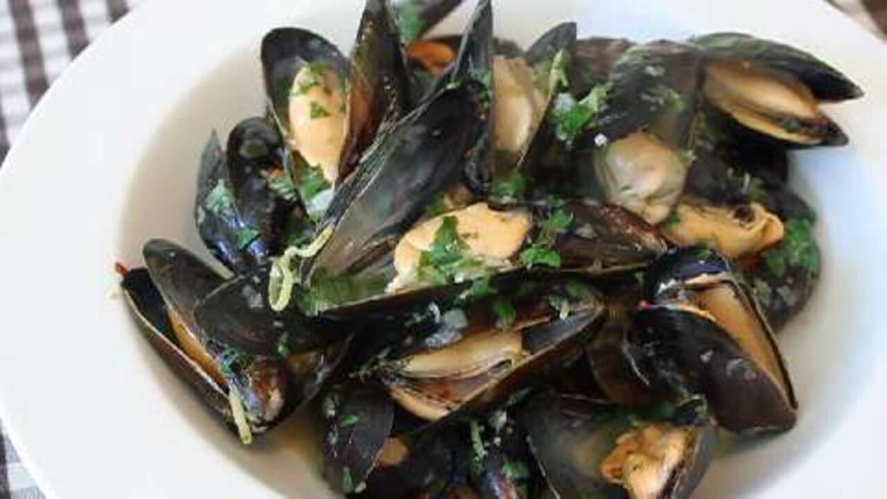 how to make drunken mussels video