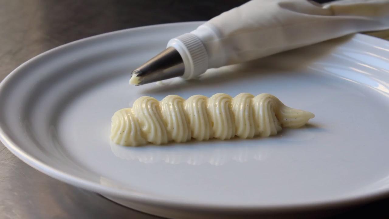 vanilla bean pastry cream video