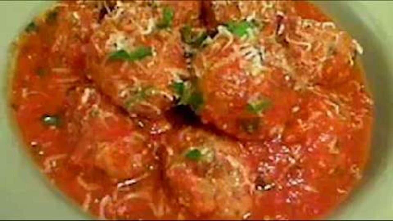 how to make italian meatballs video