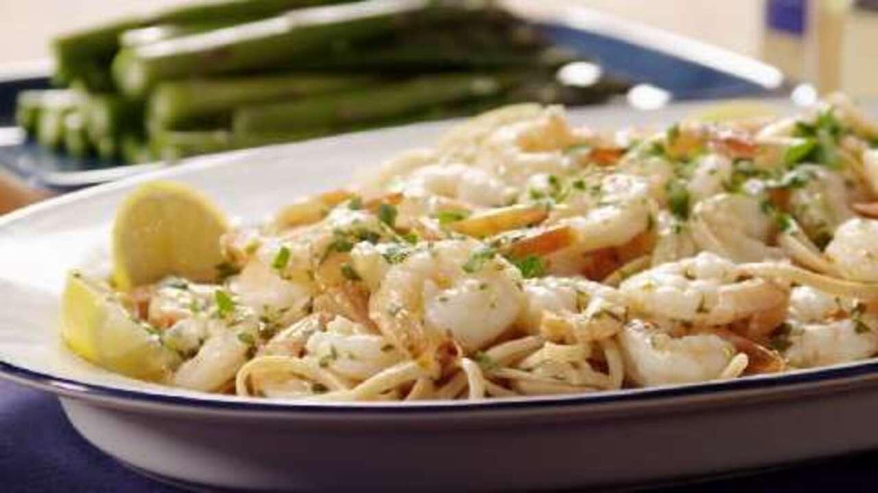 shrimp scampi bake video