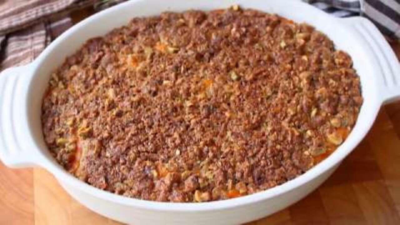 chef johns sweet potato casserole video