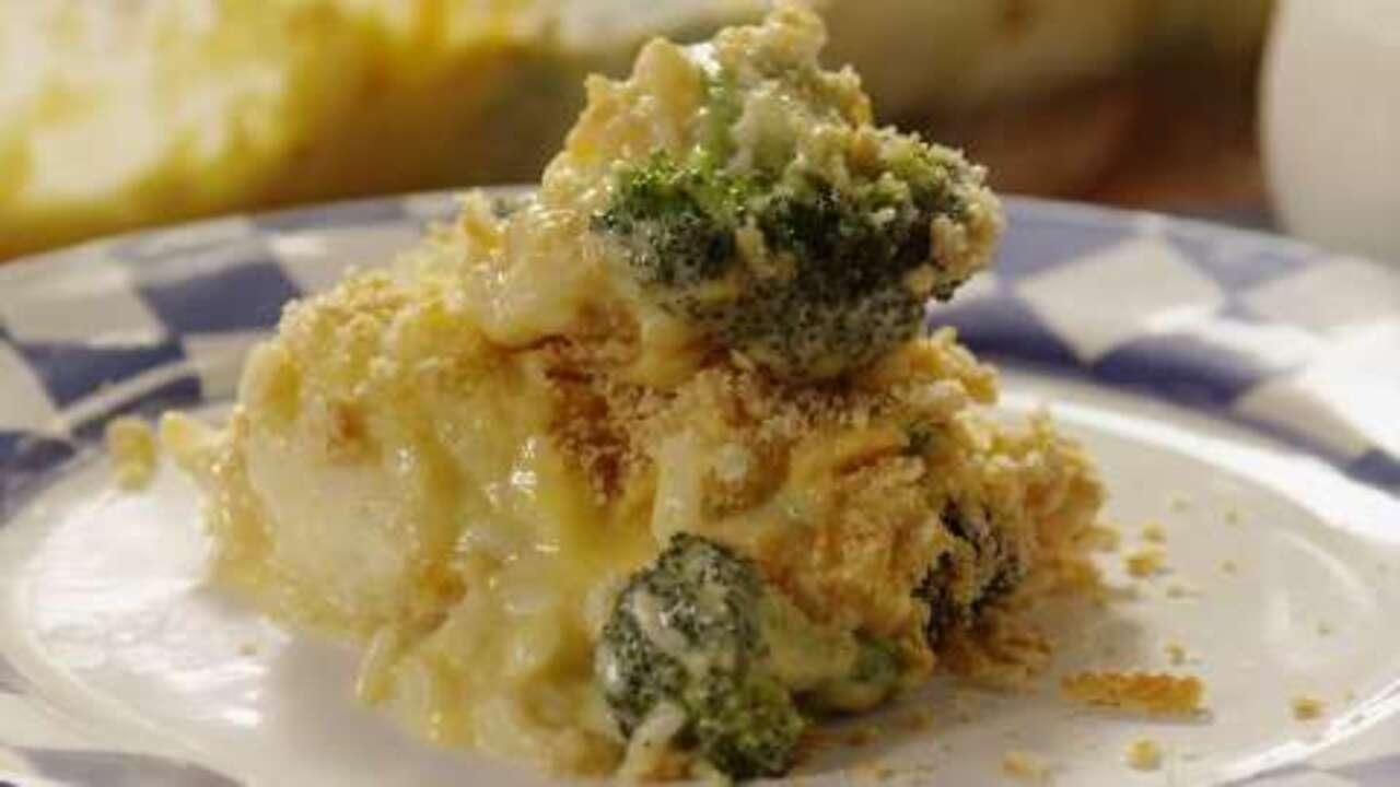 broccoli and cauliflower casserole video