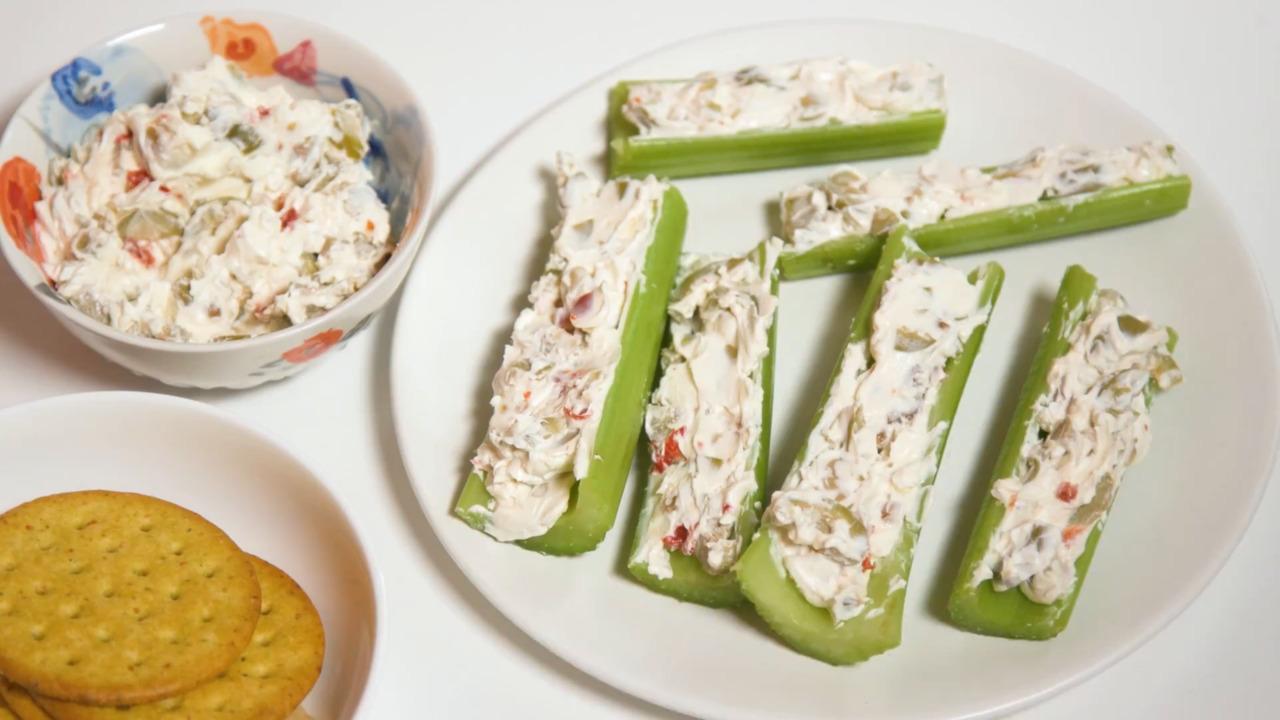 stuffed celery video