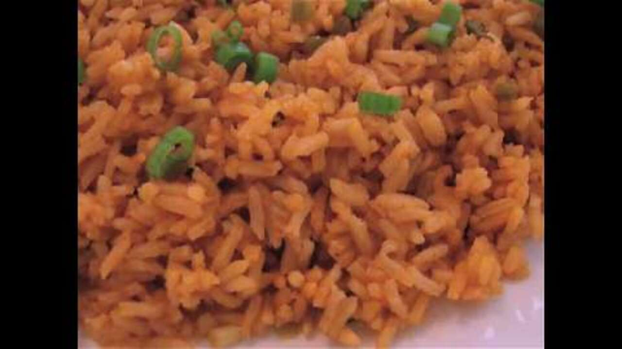 spicy spanish style rice video
