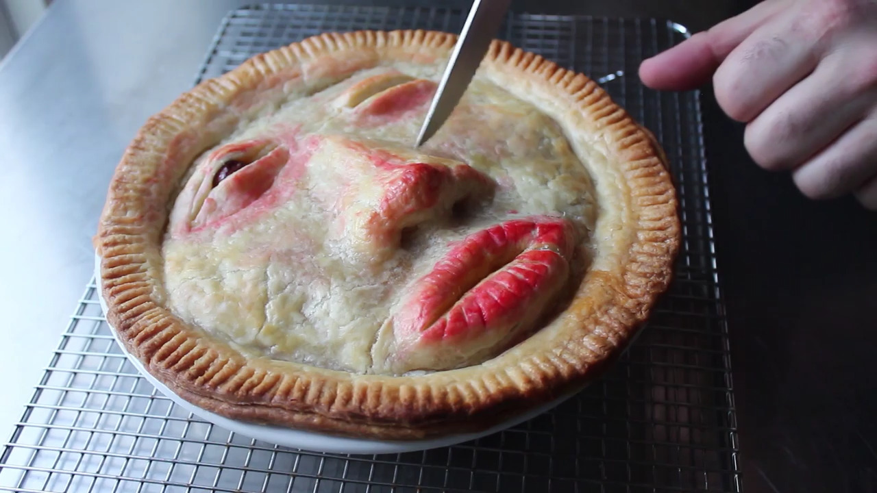 chef johns face pie video