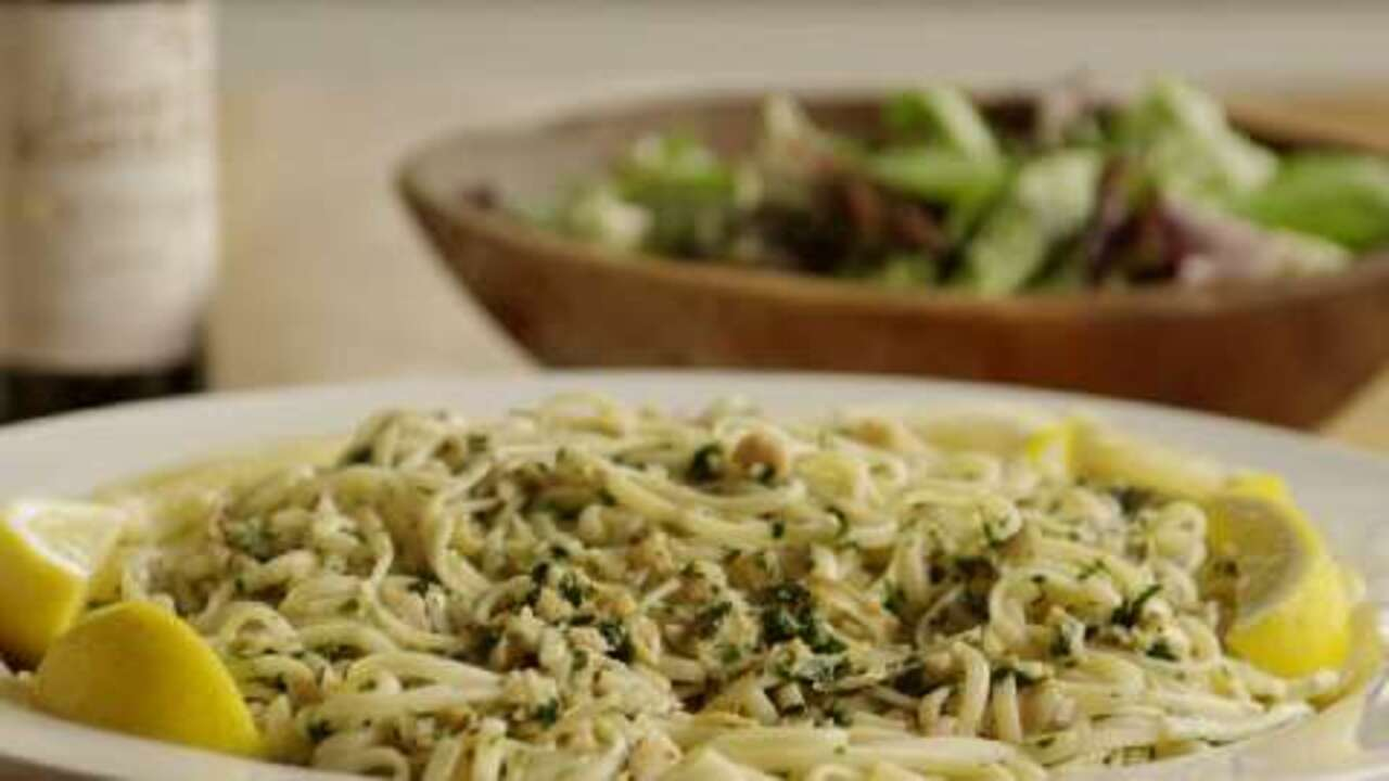 linguine with white clam sauce ii video