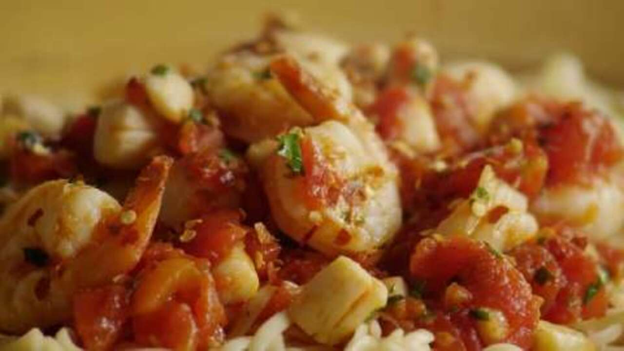 fra diavolo sauce with pasta video