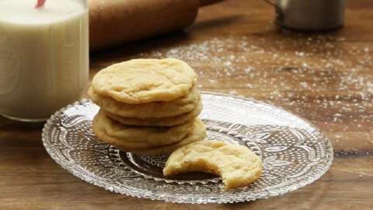 chewy sugar cookies video