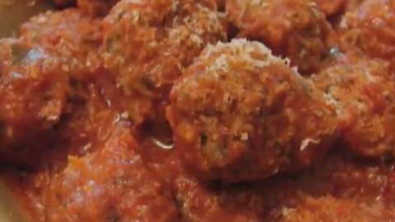 chef johns ricotta meatballs video