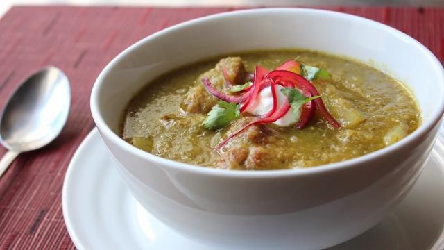 pork chili verde green pork chili video