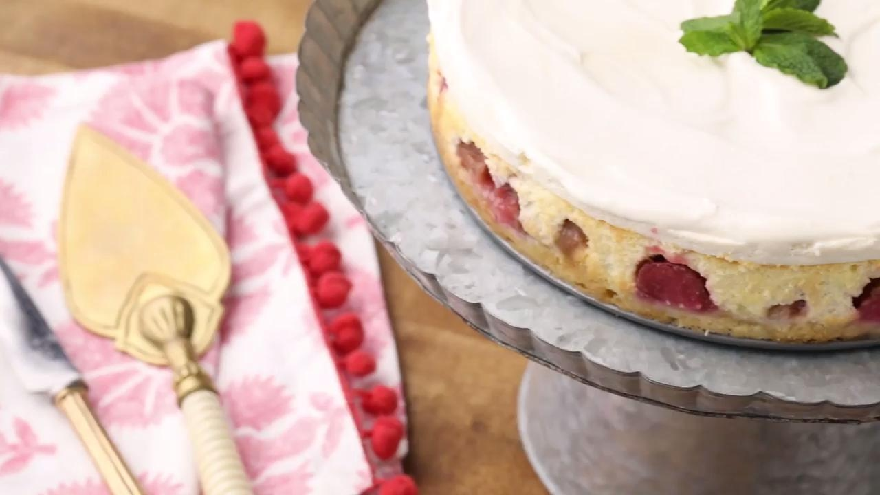 Rhubarb Cheesecake Video