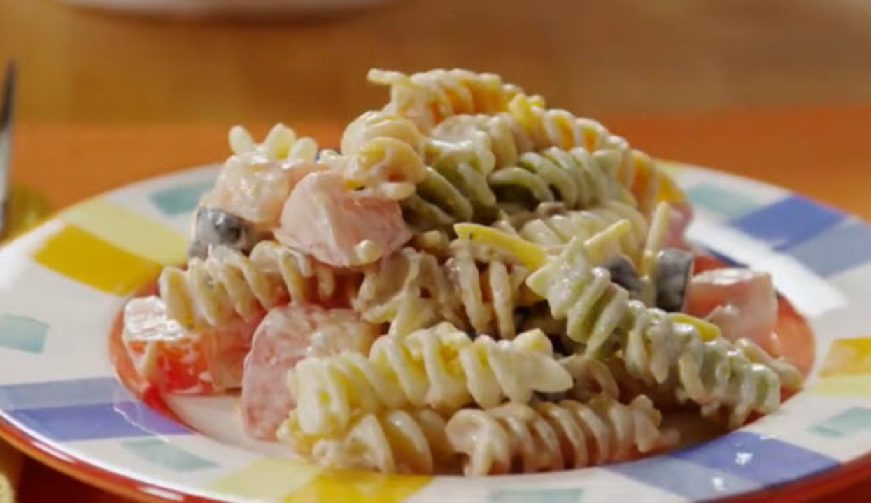 Bacon Ranch Pasta Salad Recipe Allrecipes Com